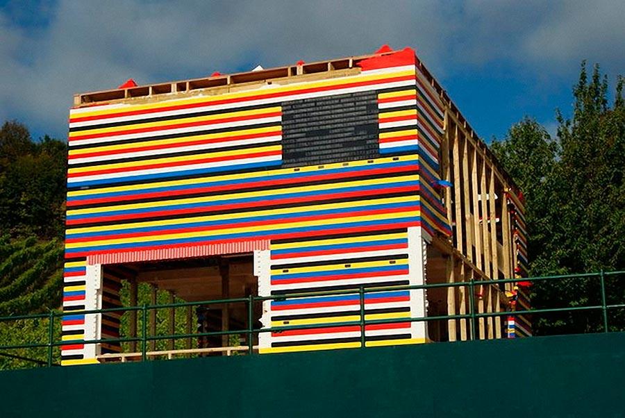 Самые оригинальные дома в мире Дом-конструктор Лего Англия