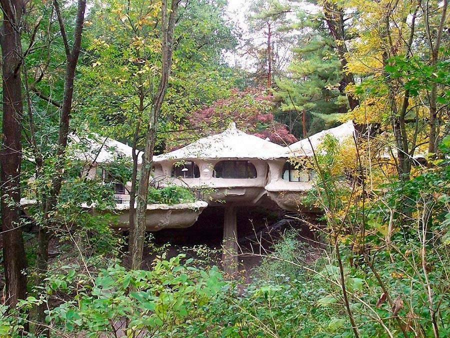 Самые оригинальные дома в мире Дом-гриб в США