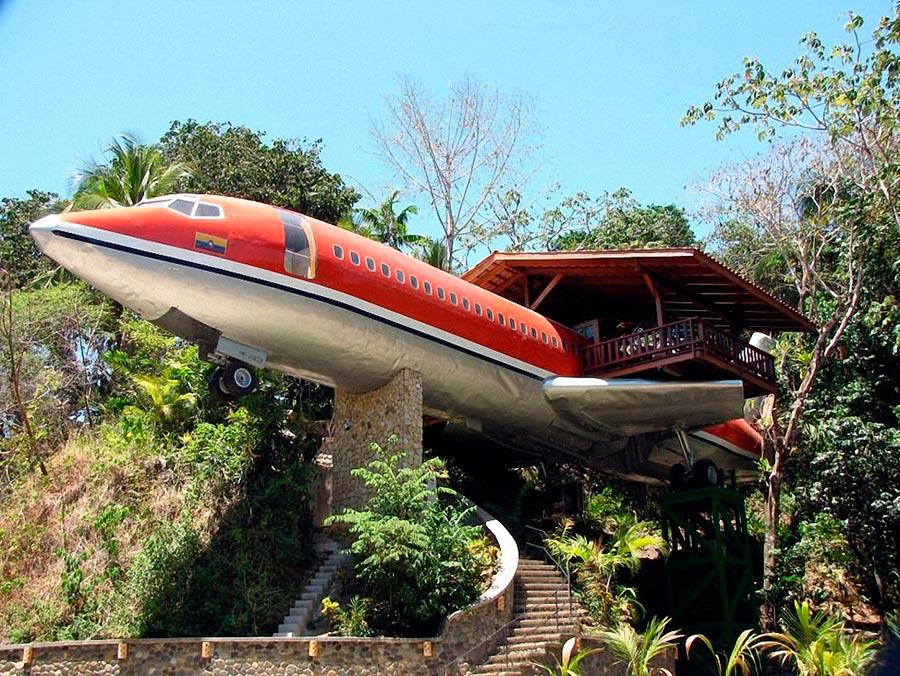 Самые оригинальные дома в мире Дом-Боинг 727 в США