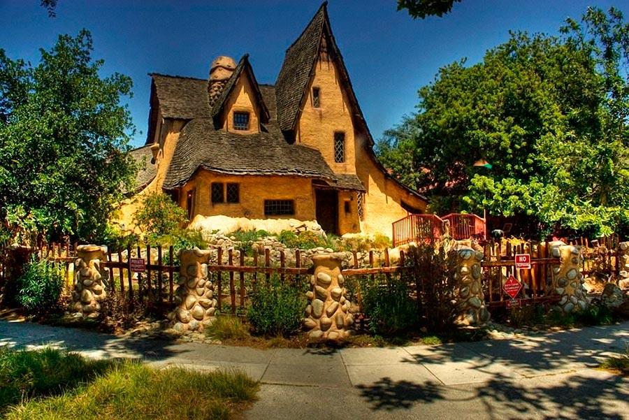 Самые оригинальные дома в мире Сказочный дом в США