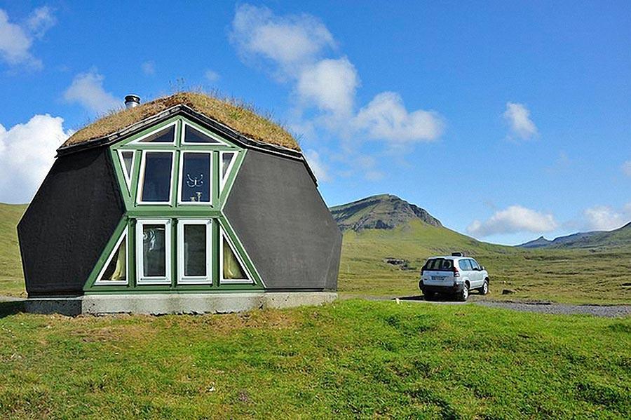 Самые оригинальные дома в мире Kvivik Igloo в Дании