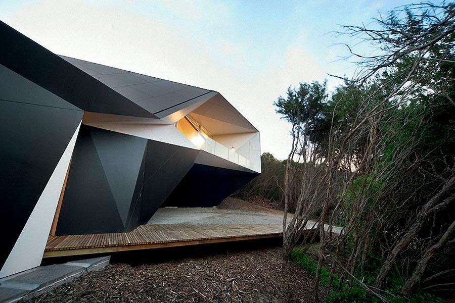 Самые оригинальные дома в мире Klein Bottle House, Австралия