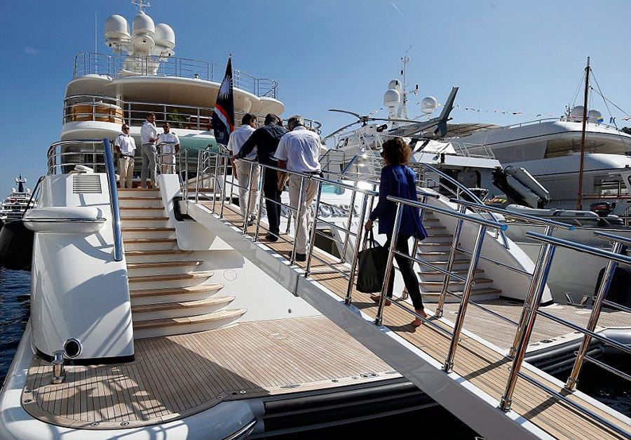 Яхт-шоу в Монако Monaco