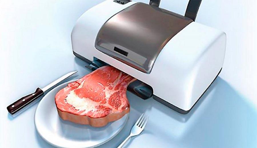 3D-printer food 3D-принтер для печати еды