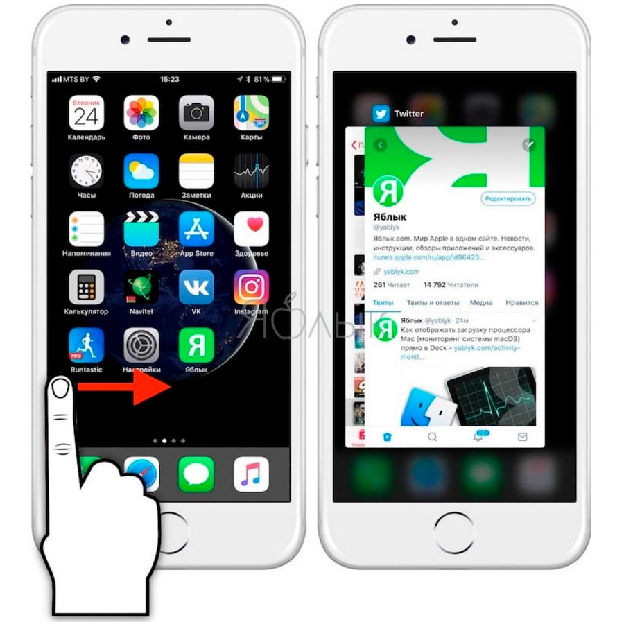 3D touch на iphone apple ios