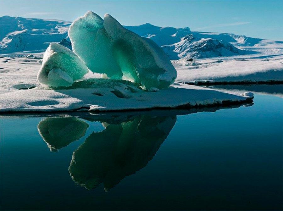 Iceland Исландия Озеро Йокюльсадлон