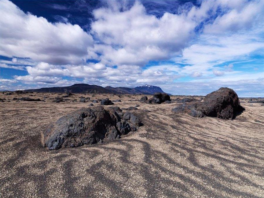 Iceland Исландия вулкан Аскья