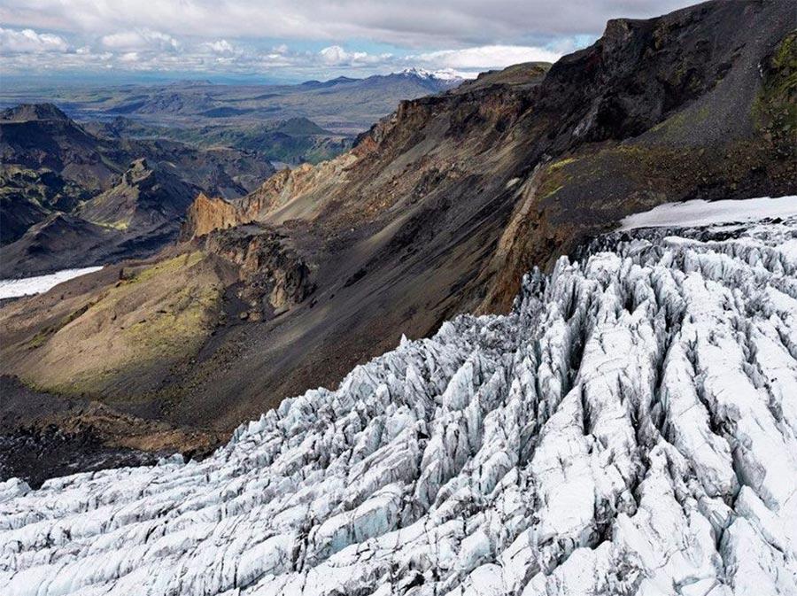 Iceland Исландия Mýrdalsökull