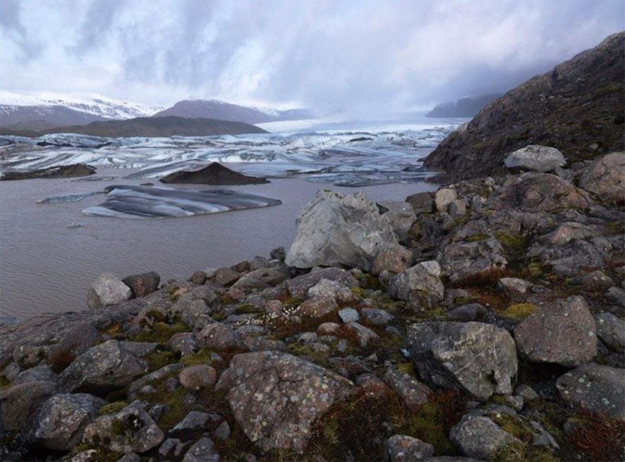 Iceland Исландия мыс Vatnajokull
