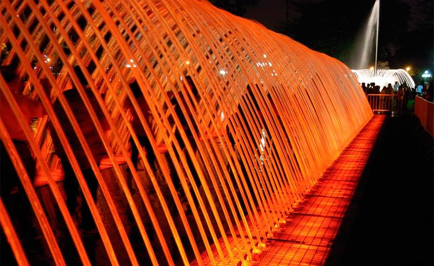 фонтаны мира Тоннель сюрпризов Лима Перу Lima Peru