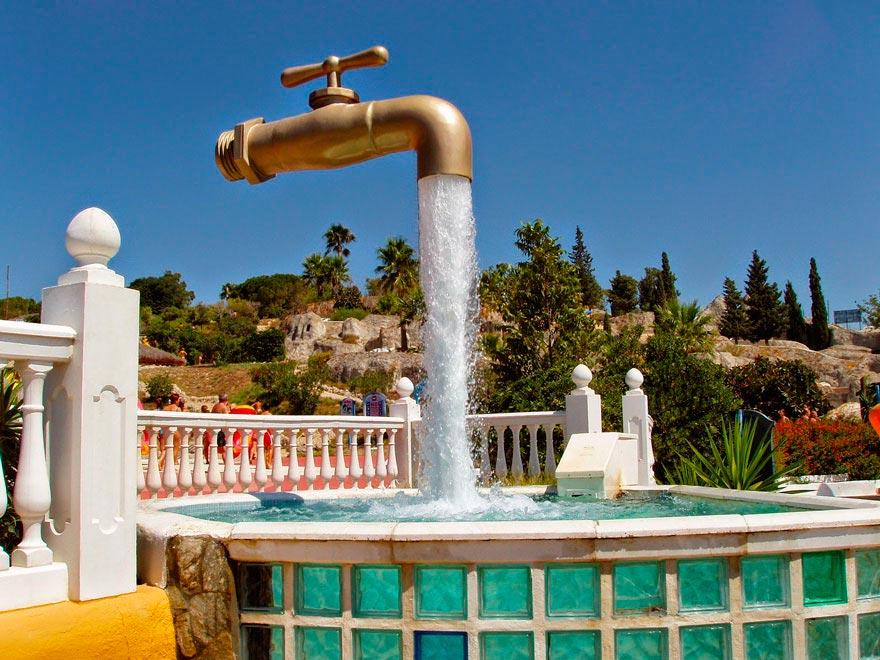 фонтаны мира Magic Tap Кадис Испания Cadiz Spain