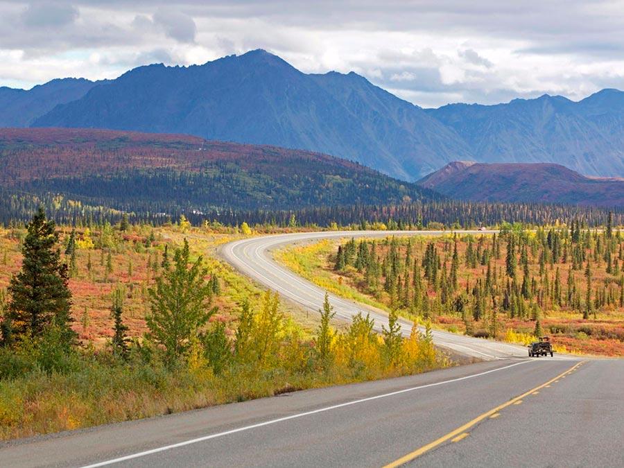 Красивейшие автотрассы мира The Denali Highway Аляска США