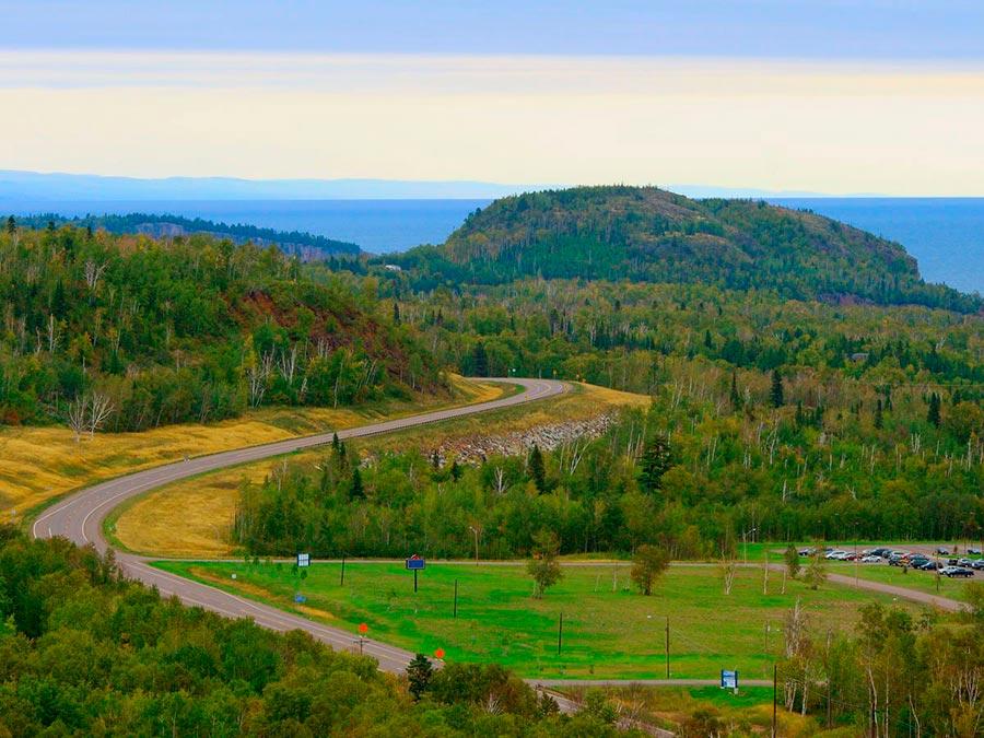 Красивейшие автотрассы мира Highway 61 США