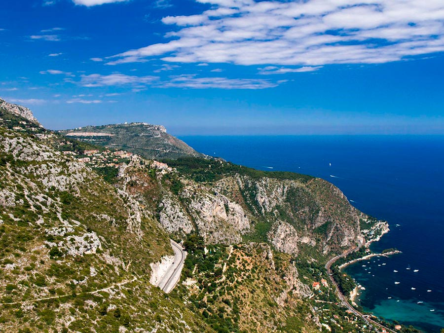 Красивейшие автотрассы мира Трасса между Ниццей и Монако
