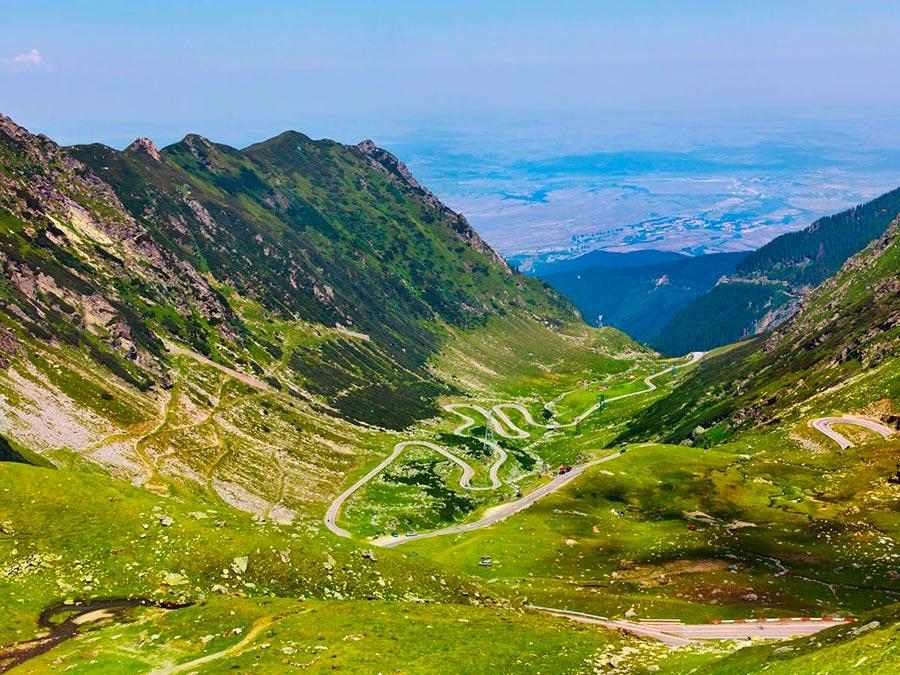 Красивейшие автотрассы мира Дорога в небо Трансальпина Румыния