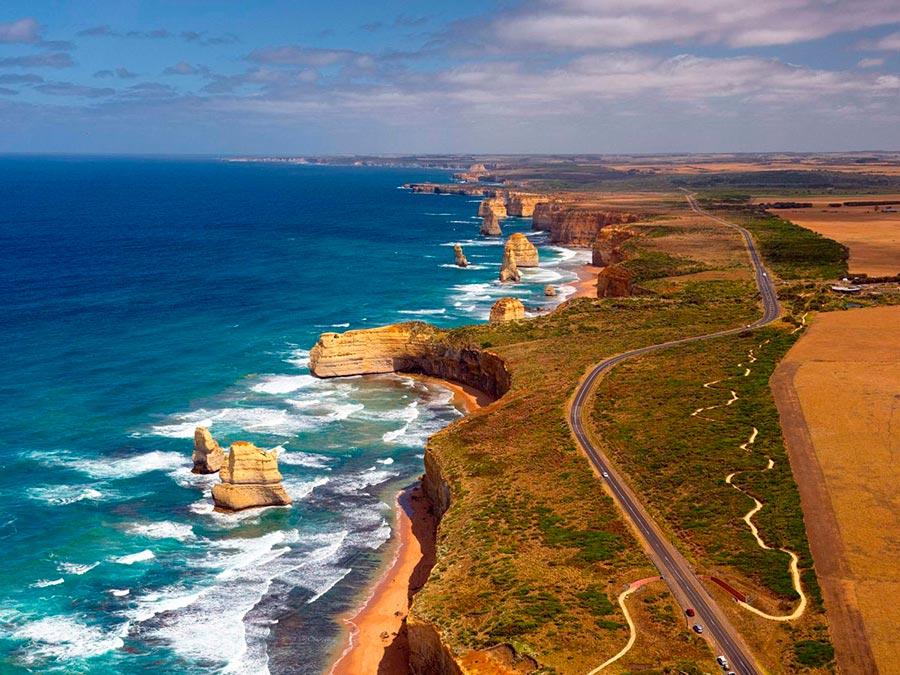 Красивейшие автотрассы мира Great Ocean Road, Австралия