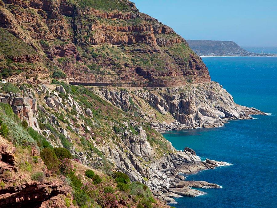 Красивейшие автотрассы мира Chapman's Peak Drive, Южная Африка