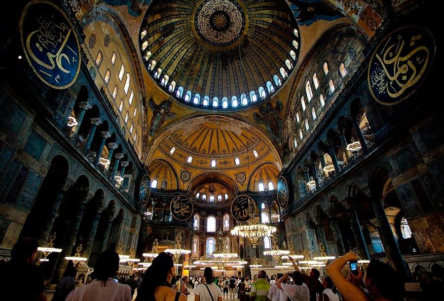 Турция Turkey самые красивые места Собор Святой Софии, Стамбул