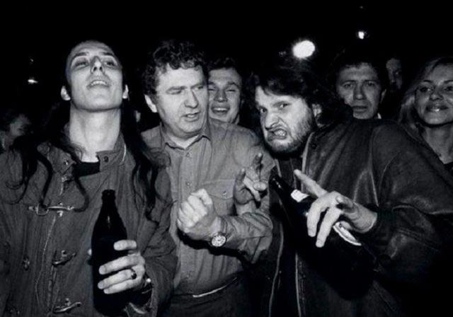 Знаменитости, когда мы были молодыми Владимир Жириновский