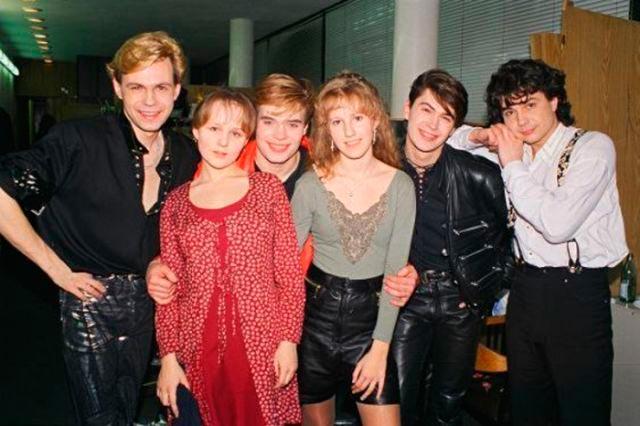 Знаменитости, когда мы были молодыми Группа На-На Ксения Собчак