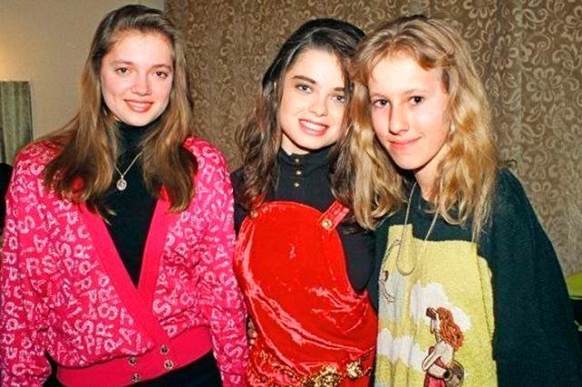 Знаменитости, когда мы были молодыми Наташа Королева Ксения Собчак