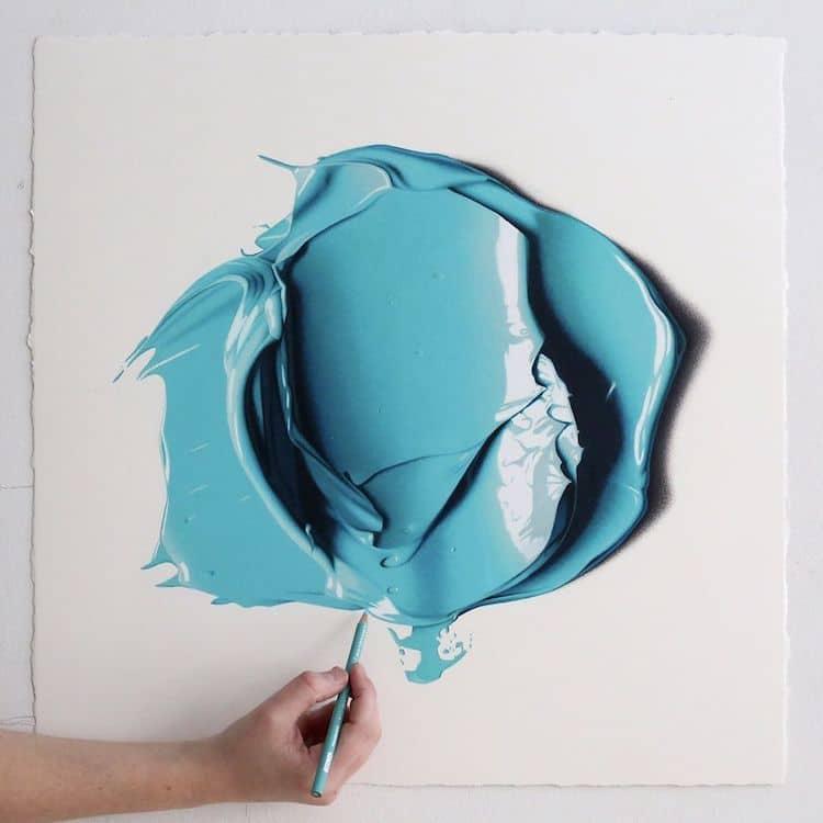 Cj Hendry Сиджей Хендри живопись карандашом