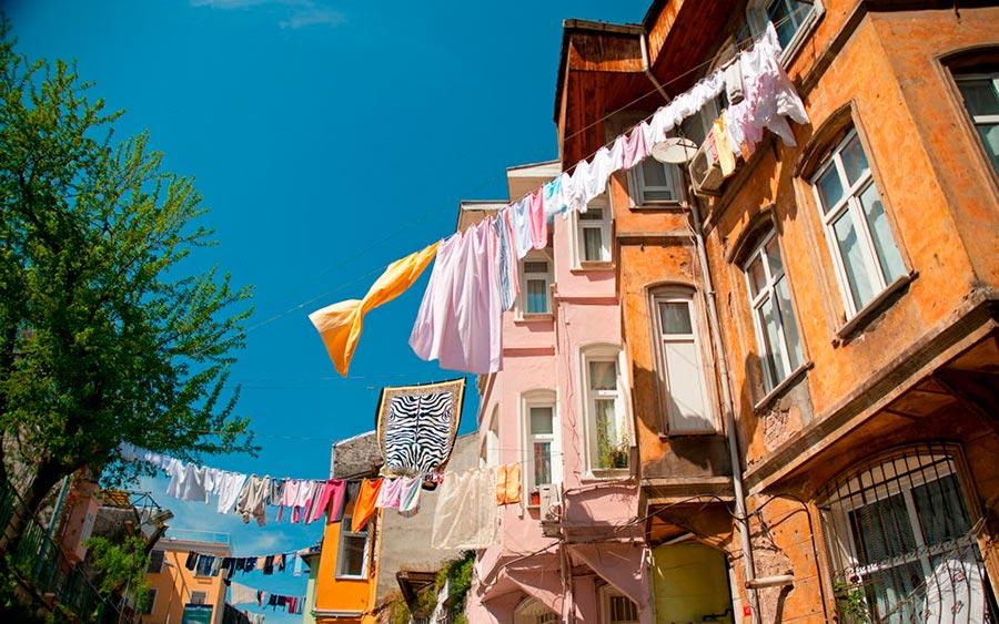 цветные города планеты Балат Стамбул Турция