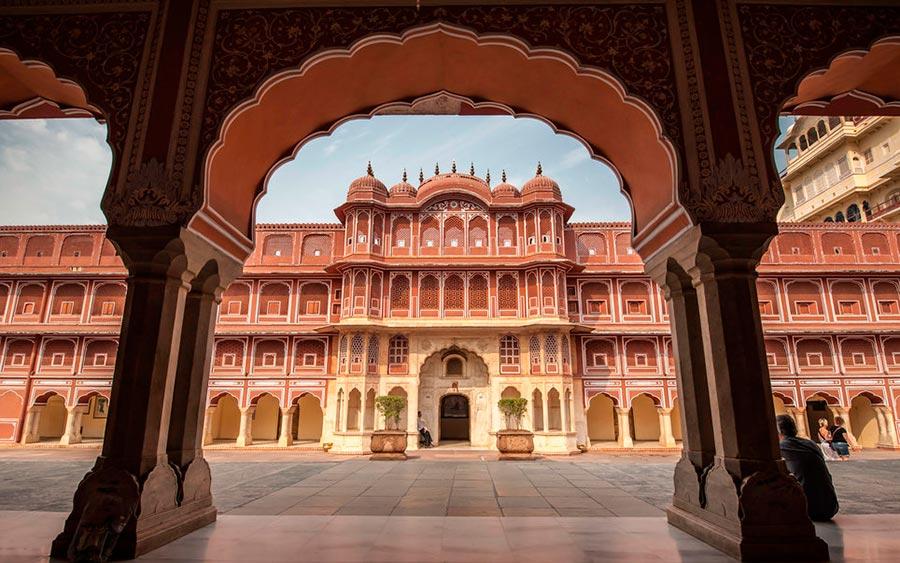 цветные города планеты Джайпур Индия