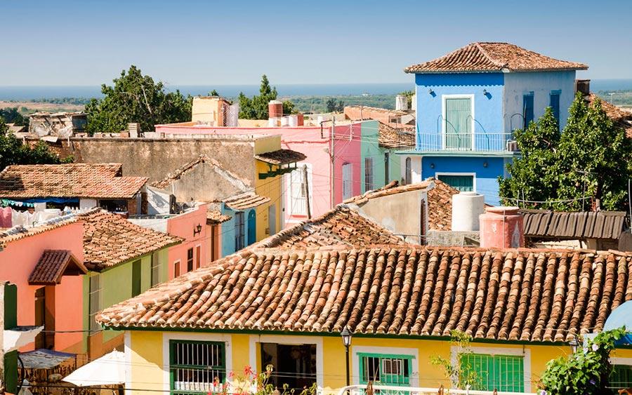 цветные города планеты Тринидад Куба
