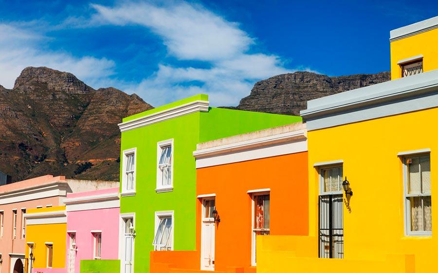 цветные города планеты Бо-Каап Кейптаун ЮАР