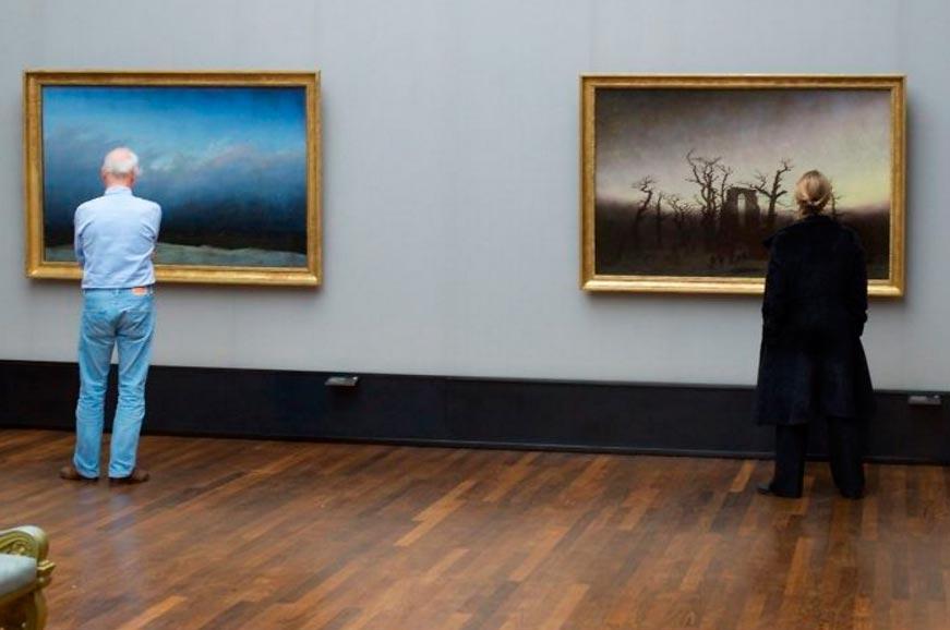 Стефан Драшан Stefan Draschan снимки людей в музеях