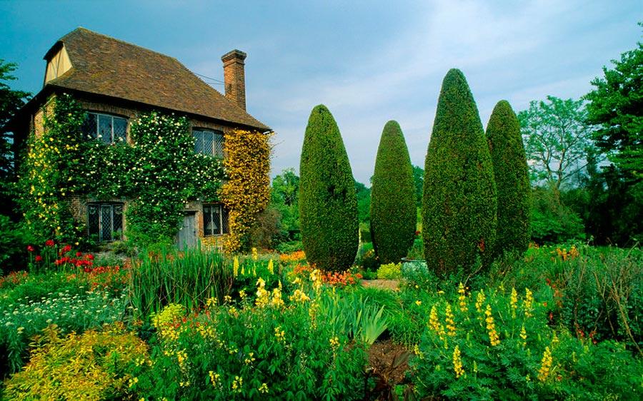 England interesting places Интересные места Англия сады Сиссингхерст Sissinghurst