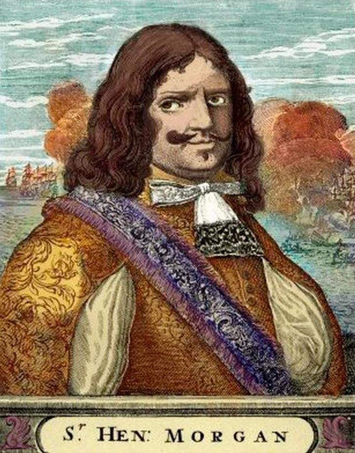 пираты в истории Генри Морган