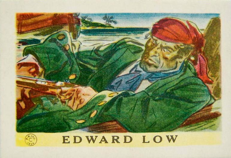 пираты в истории Эдвард Лау