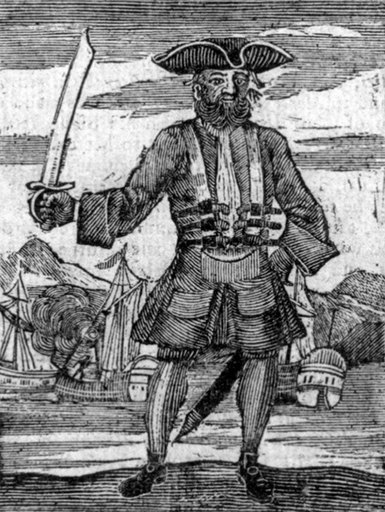 пираты в истории Эдвард Тич