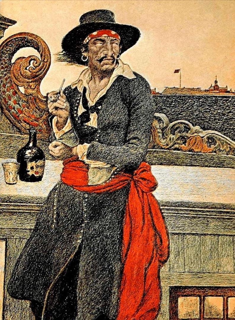 пираты в истории Уильям Кидд