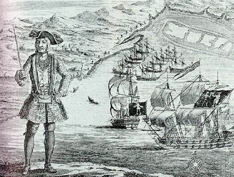 пираты в истории Бартоломью Робертс