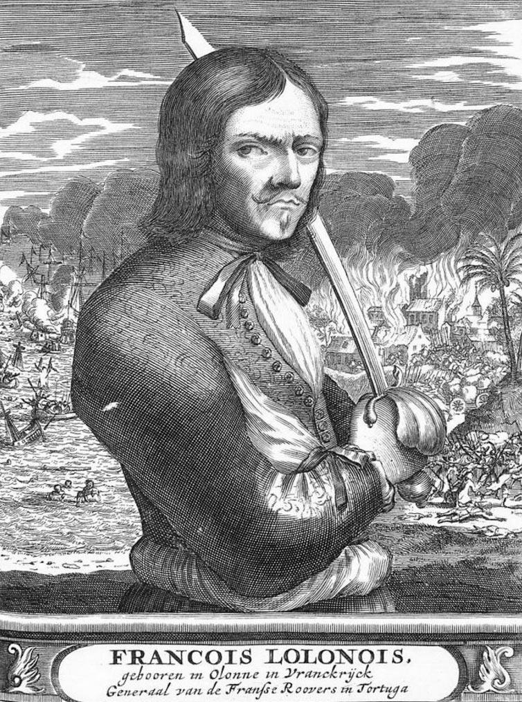 пираты в истории Франсуа Олоне