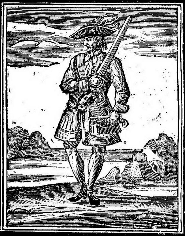 пираты в истории Джек Рэкхем