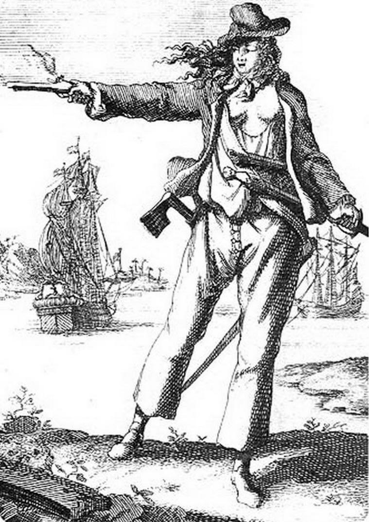 пираты в истории Энн Бонни