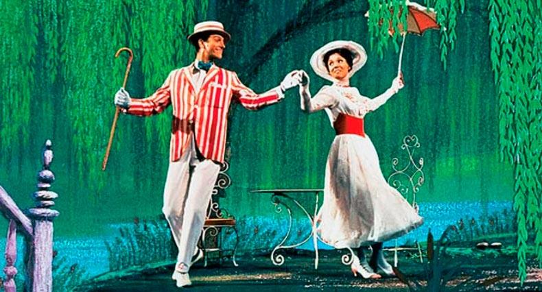Кино с элементами танцев Мэри Поппинс