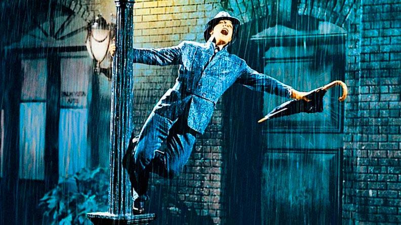 Кино с элементами танцев Поющие под дождём