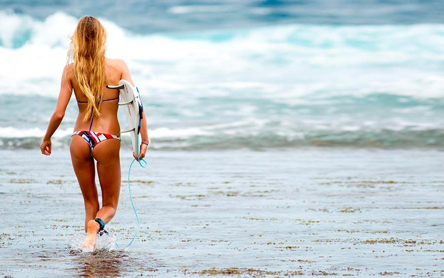 Девушки серфинг girls surfing