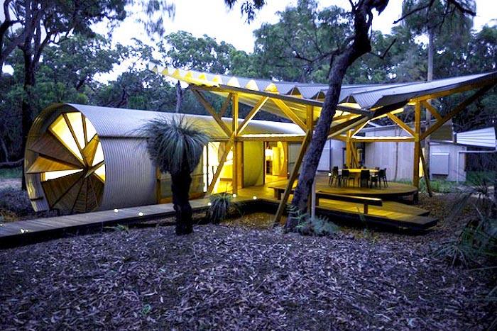 Инновационный Glamping гламурные походные палатки