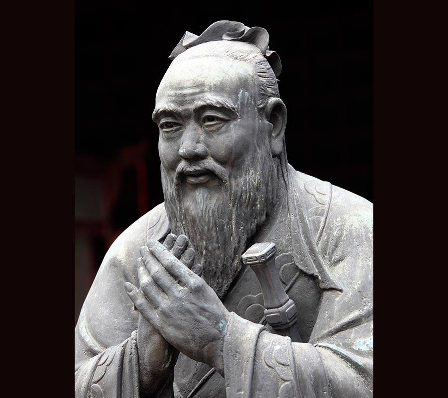 Великие умы истории женоненавистники Конфуций Confucius