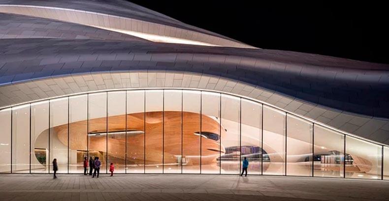Здание Харбинской оперы Harbin Китай China
