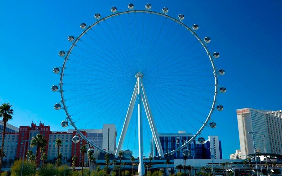 Самые высокие места планеты Колесо обозрения High Roller Лас-Вегас США USA