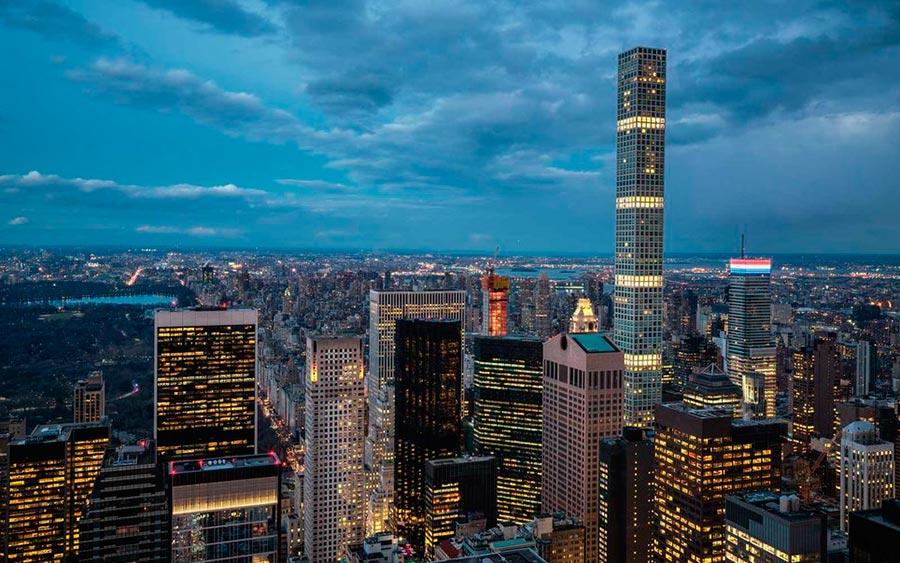 Самые высокие места планеты жилой дом 432 Парк-авеню Нью-Йорк New-York USA