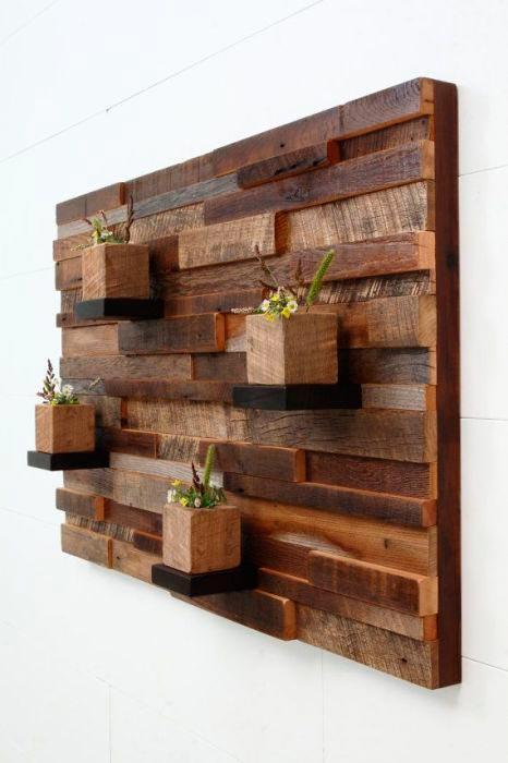 Идеи отделки помещений деревом