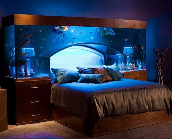 Спальня уникальные идеи
